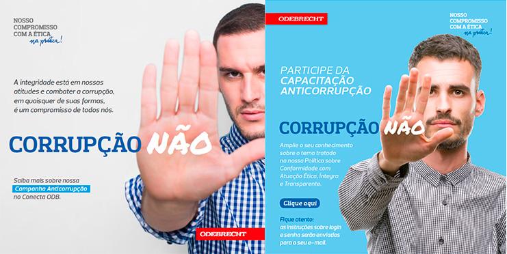 Odebrecht S.A. realiza campanha interna e capacitação online anticorrupção 2
